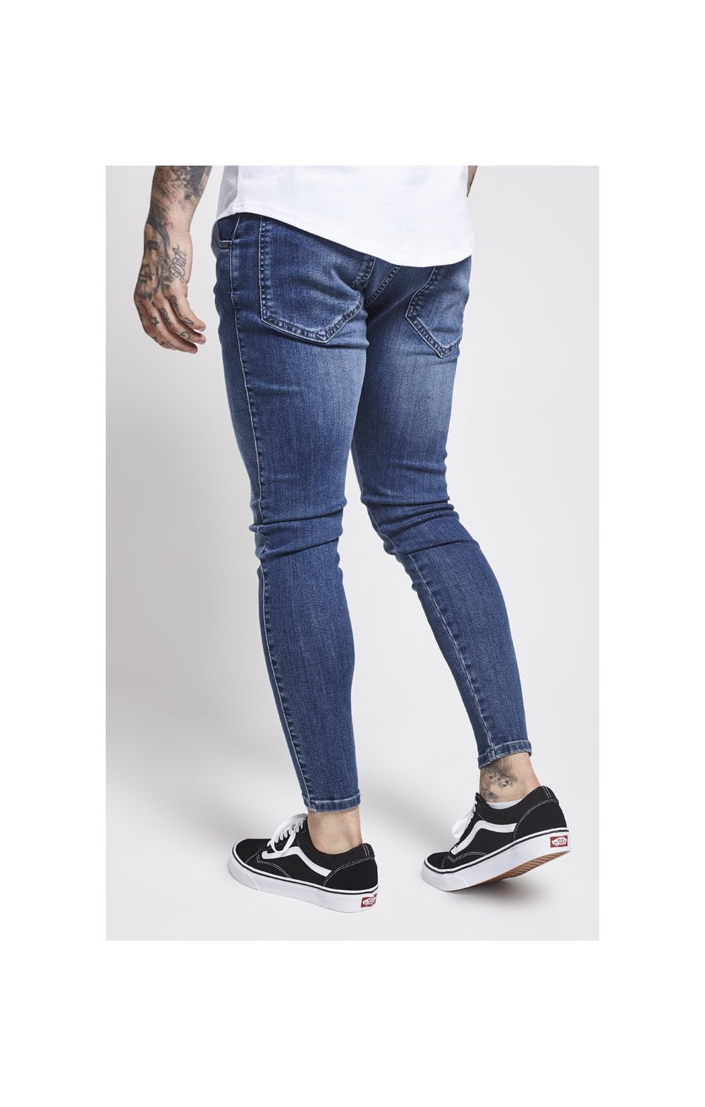 Load image into Gallery viewer, SikSilk Drop Crotch Denims – Midstone (4)