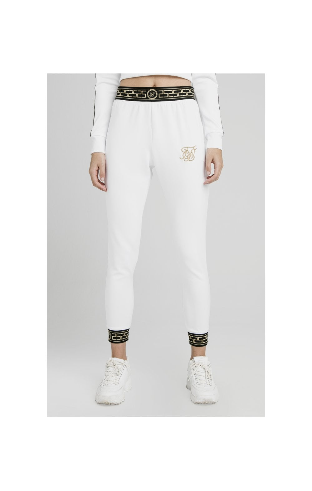 Load image into Gallery viewer, SikSilk Athena Agility Joggers – White (1)