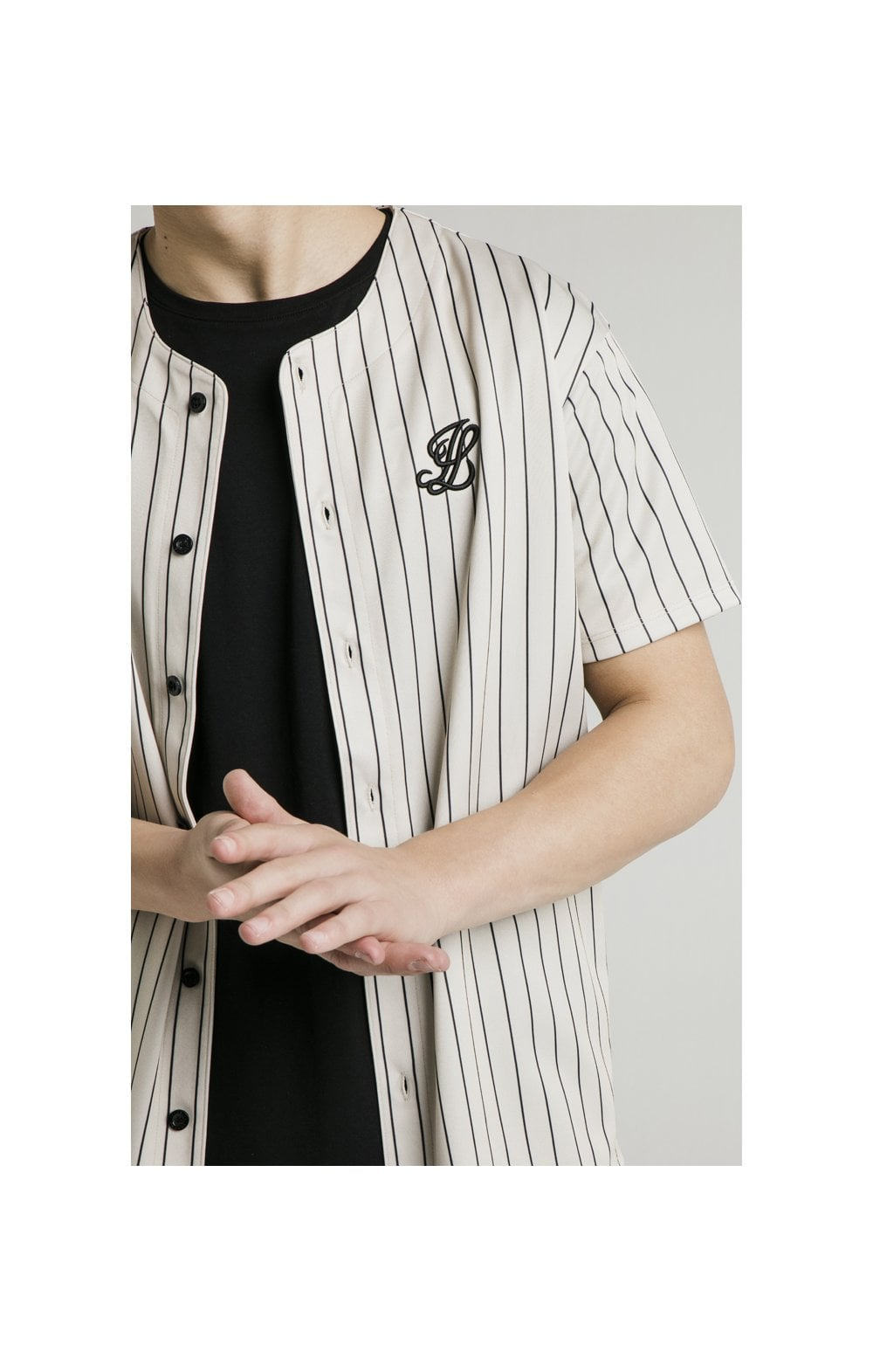 Load image into Gallery viewer, Illusive London Baseball Jersey - Ecru