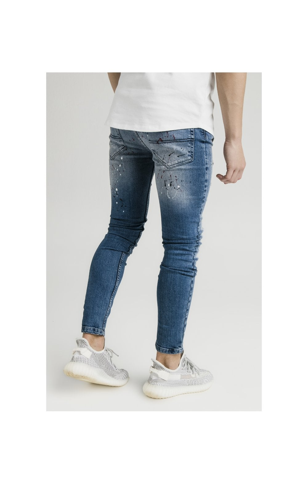 Load image into Gallery viewer, Illusive London Riot Skinny Denims - Dark Blue (2)