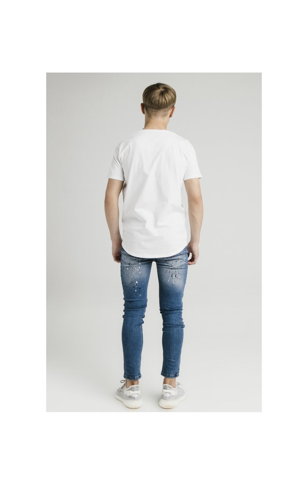 Load image into Gallery viewer, Illusive London Riot Skinny Denims - Dark Blue (7)