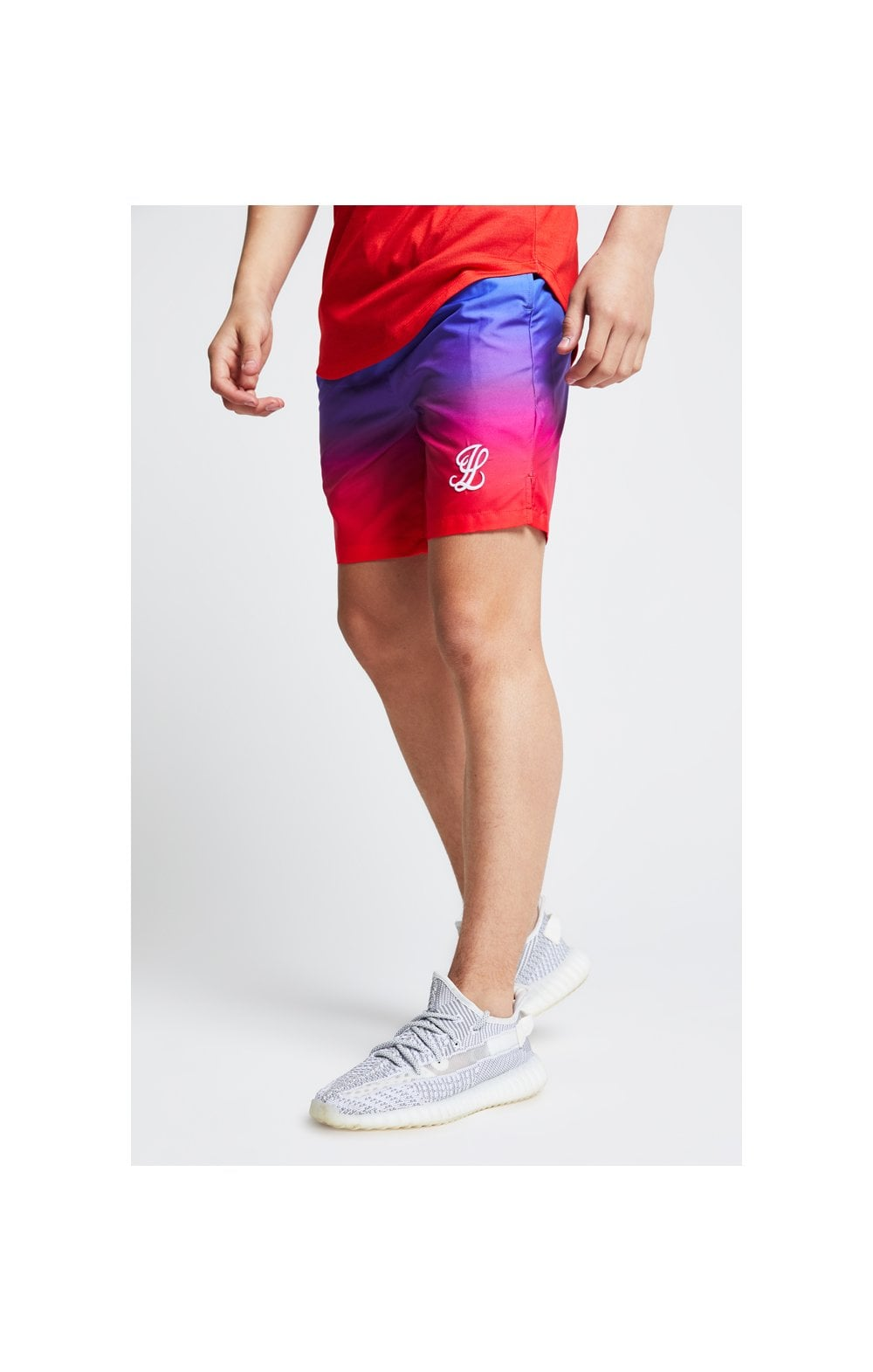 Illusive London Fade Swim Shorts - Sunset