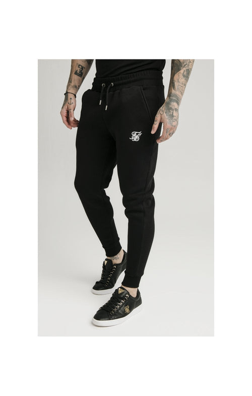 SikSilk Muscle Fit Jogger – Black