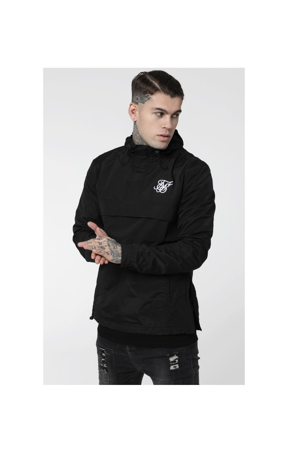 Load image into Gallery viewer, SikSilk Energy Windbreaker – Black (1)