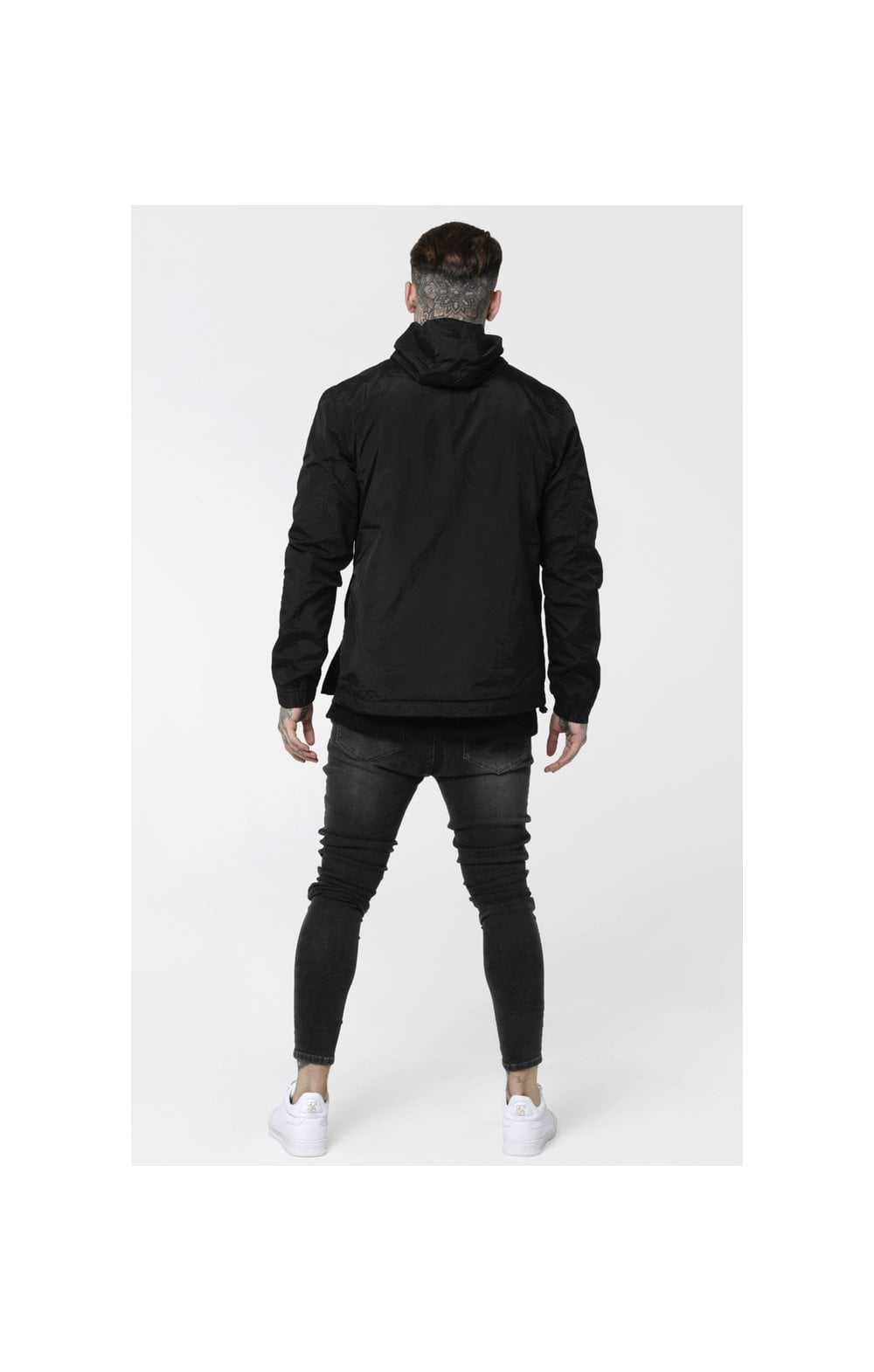 Load image into Gallery viewer, SikSilk Energy Windbreaker – Black (4)