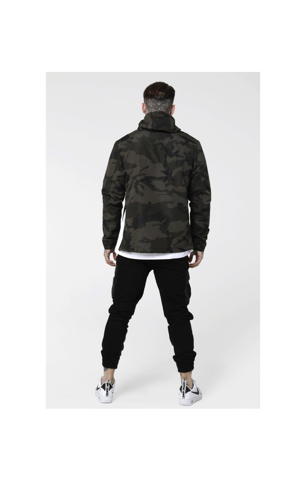 Load image into Gallery viewer, SikSilk Energy Windbreaker – Woodland Camo (6)
