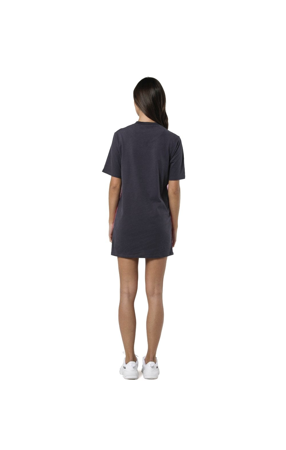 Load image into Gallery viewer, SikSilk Tape Side T-Shirt Dress - Nine Iron (7)