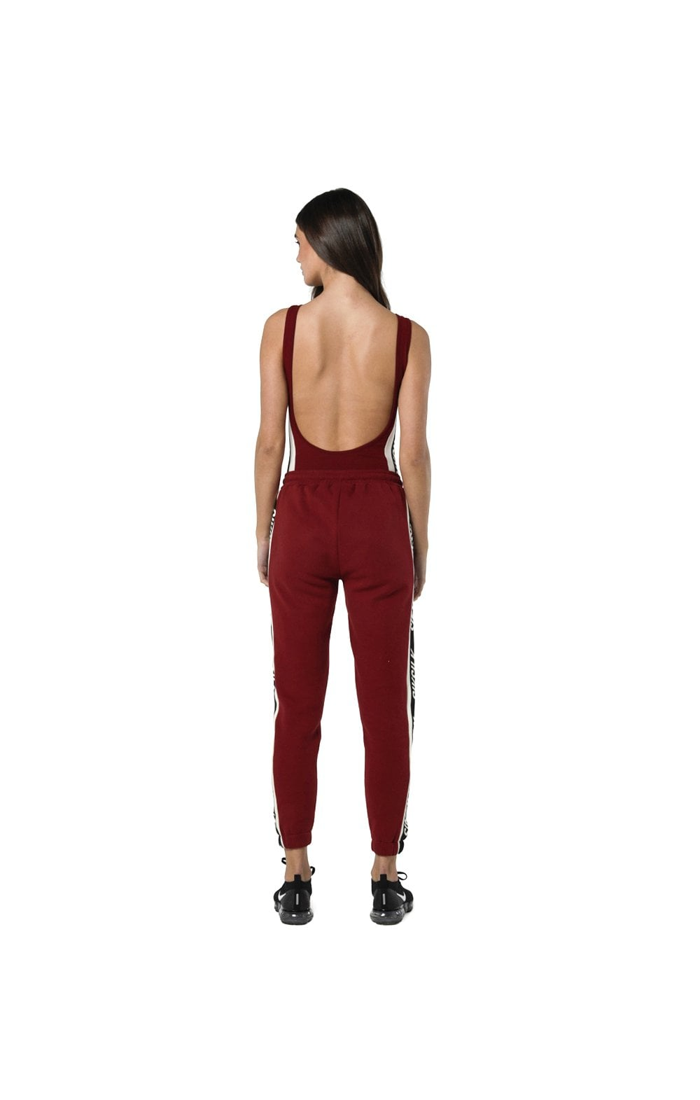 Load image into Gallery viewer, SikSilk Backless Bodysuit - Rhubarb (5)