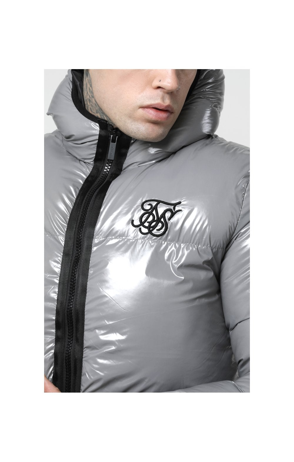 Load image into Gallery viewer, SikSilk Driven Jacket – Grey