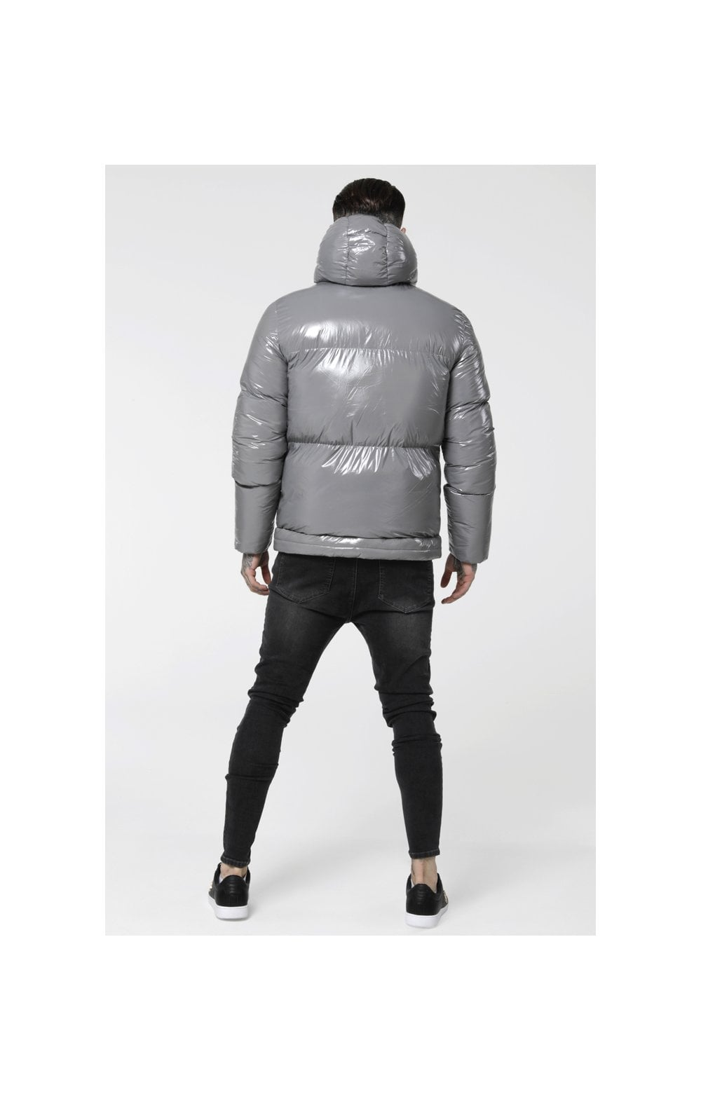 SikSilk Driven Jacket – Grey (5)