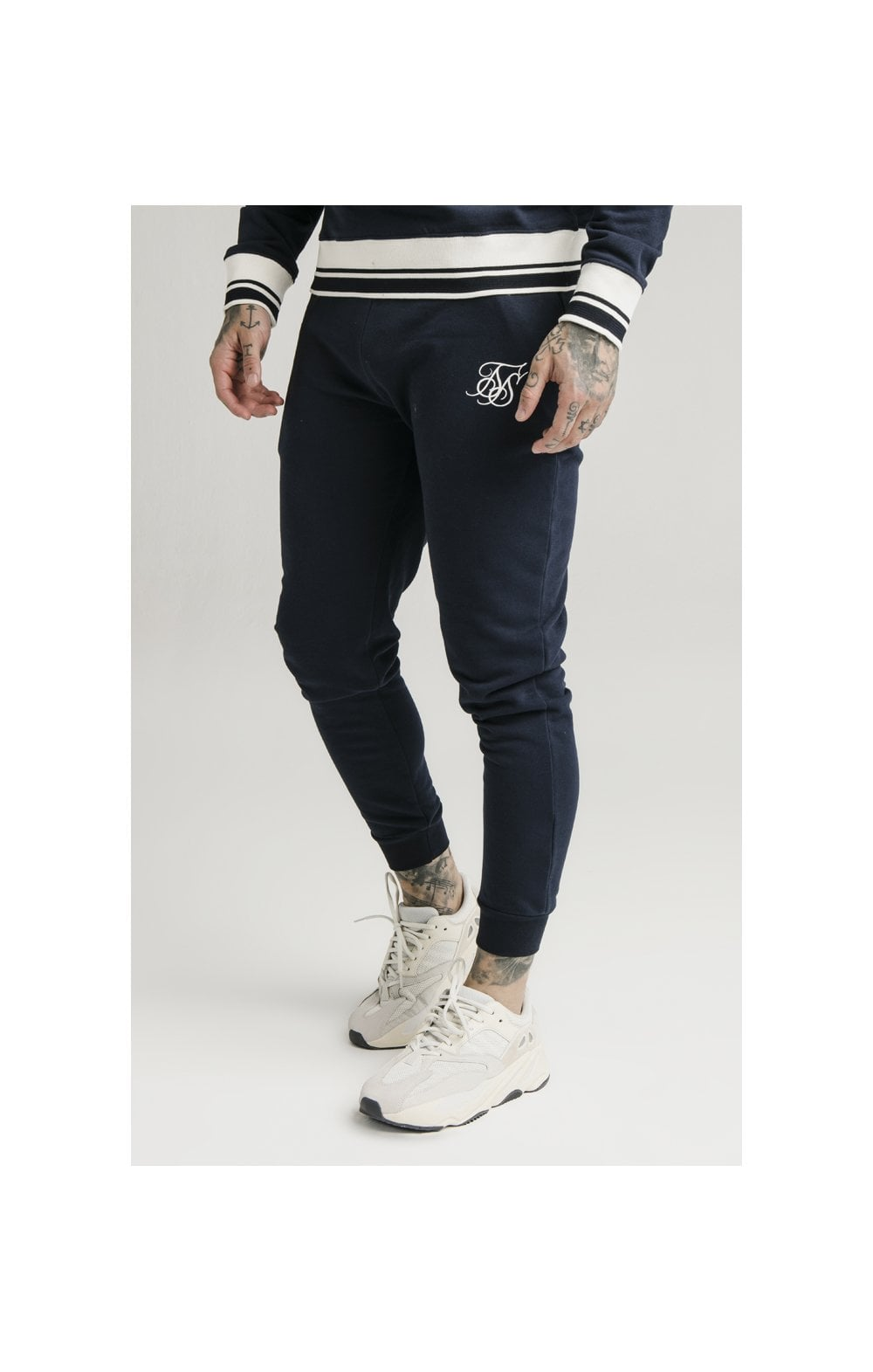 SikSilk Regal Jogger – Navy