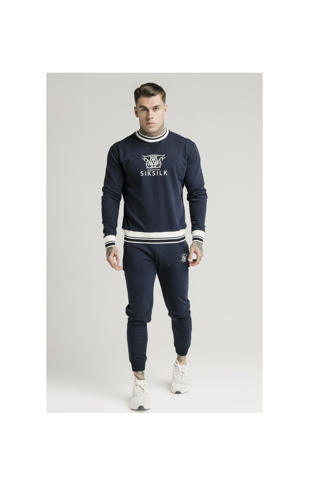 Load image into Gallery viewer, SikSilk Regal Jogger – Navy (1)