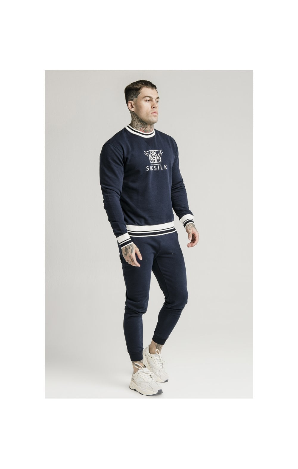 Load image into Gallery viewer, SikSilk Regal Jogger – Navy (3)