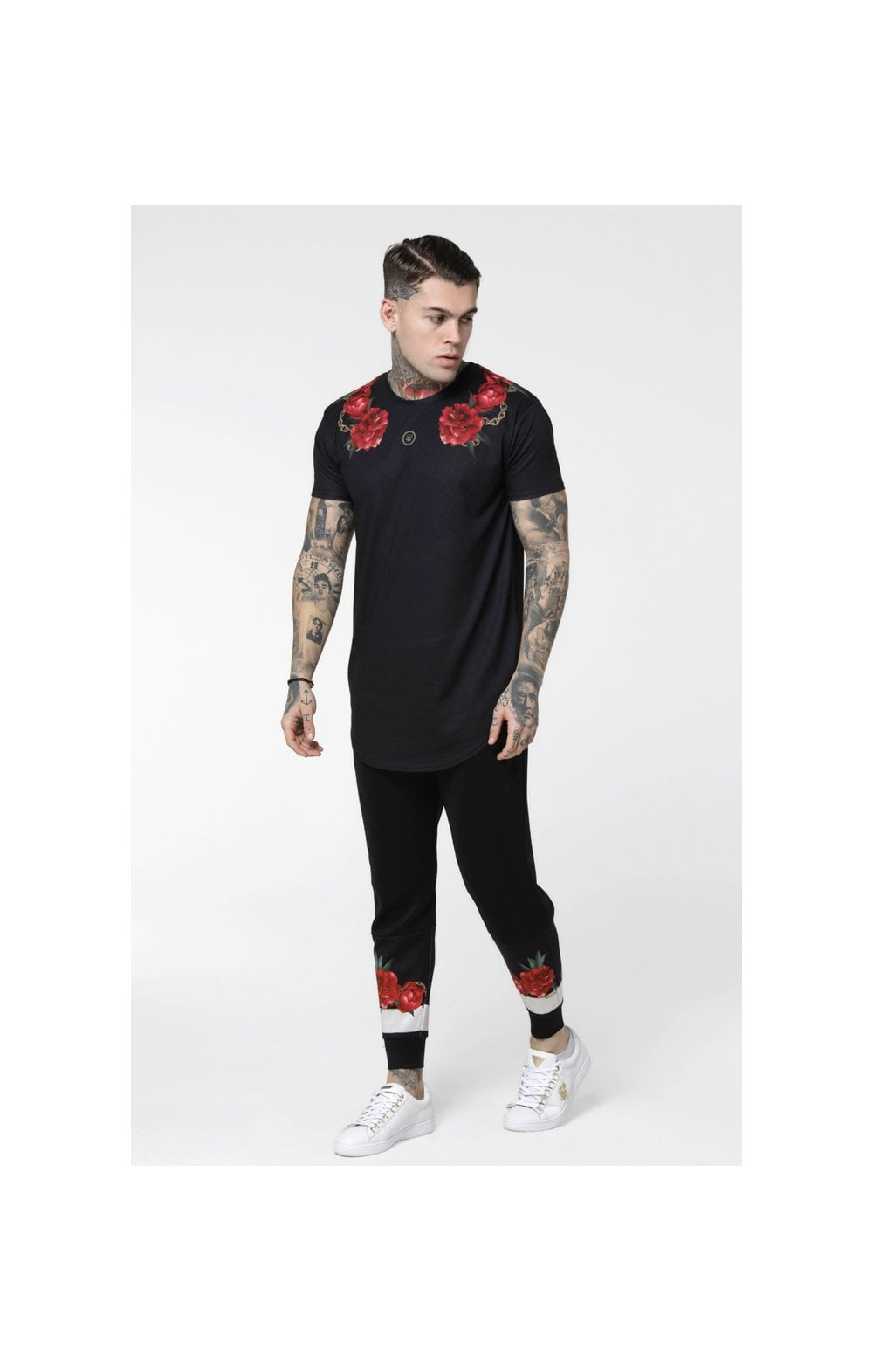 Load image into Gallery viewer, SikSilk S/S Majestic Curved Hem – Black (3)
