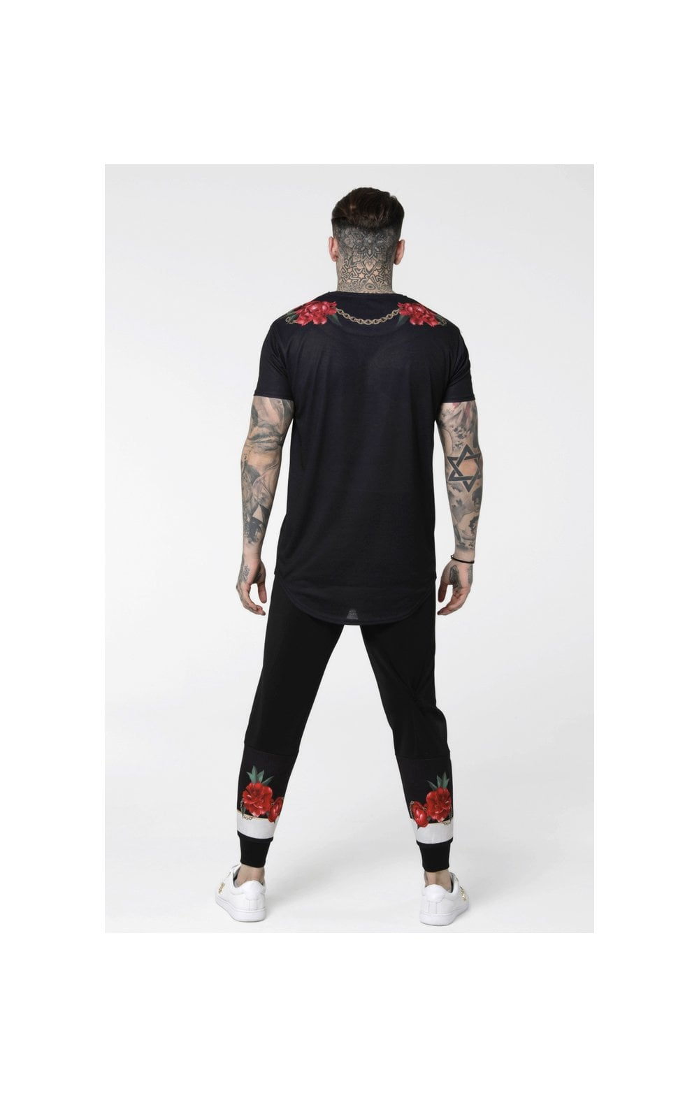 Load image into Gallery viewer, SikSilk S/S Majestic Curved Hem – Black (5)