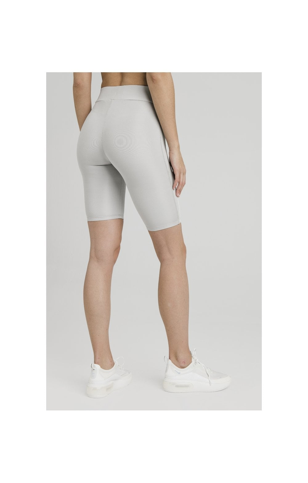 SikSilk Disco Cycle Shorts – Silver (6)