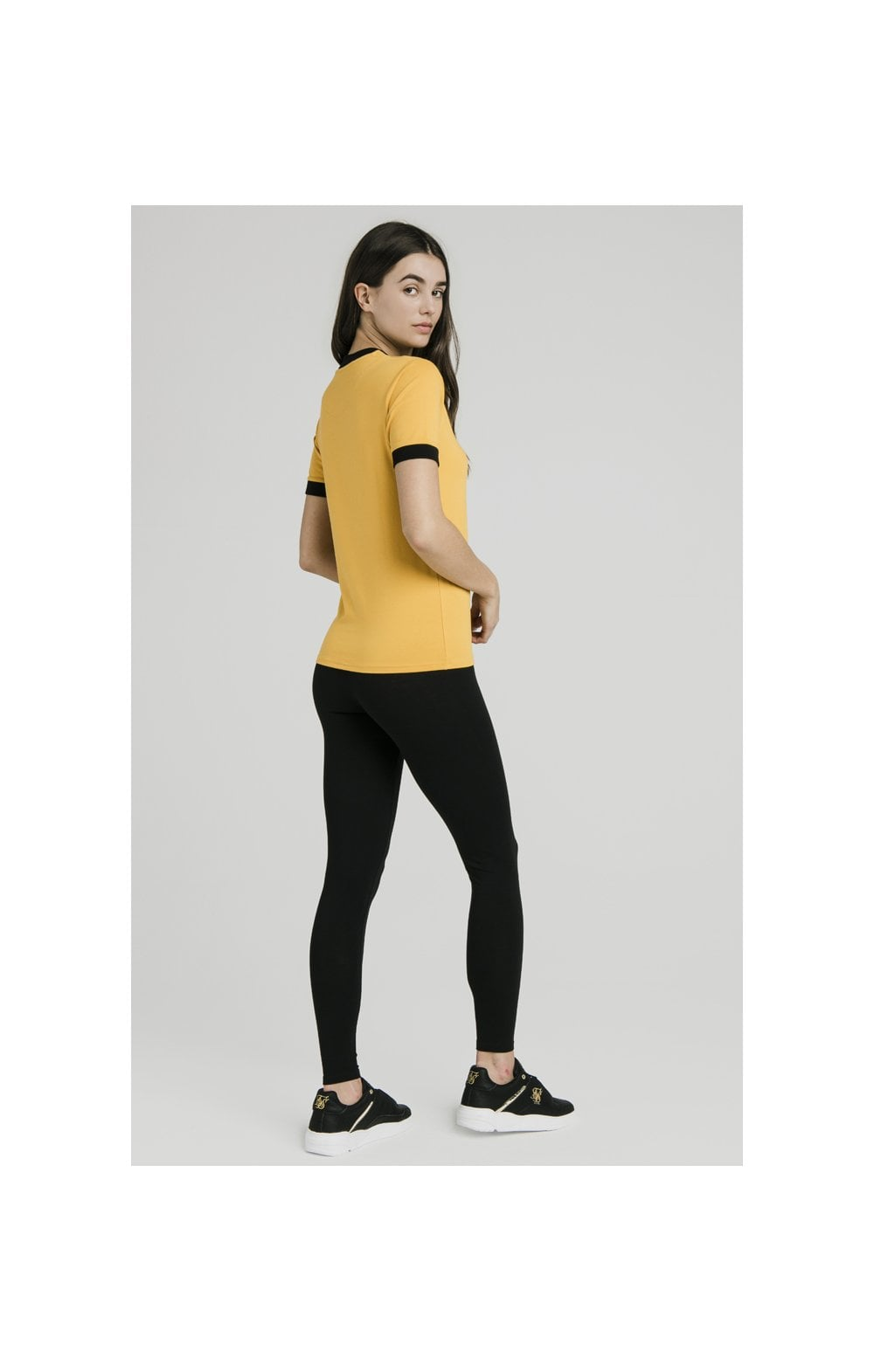 SikSilk Ringer Tee – Golden Sun (5)