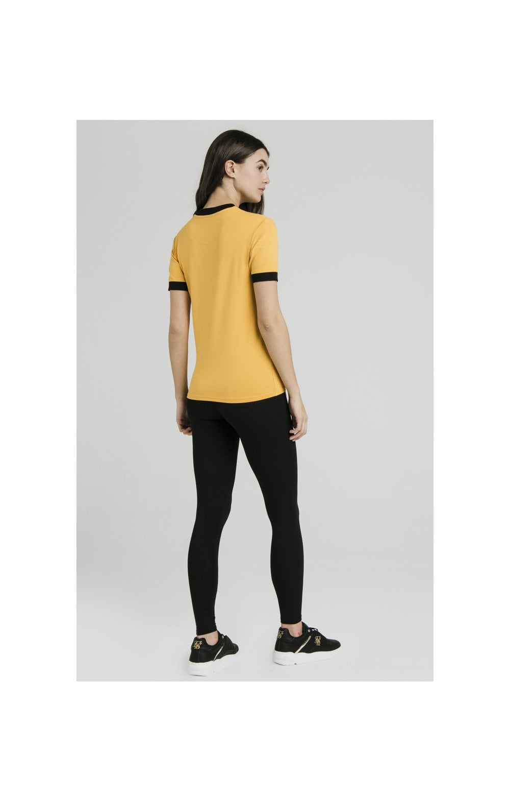 SikSilk Ringer Tee – Golden Sun (6)