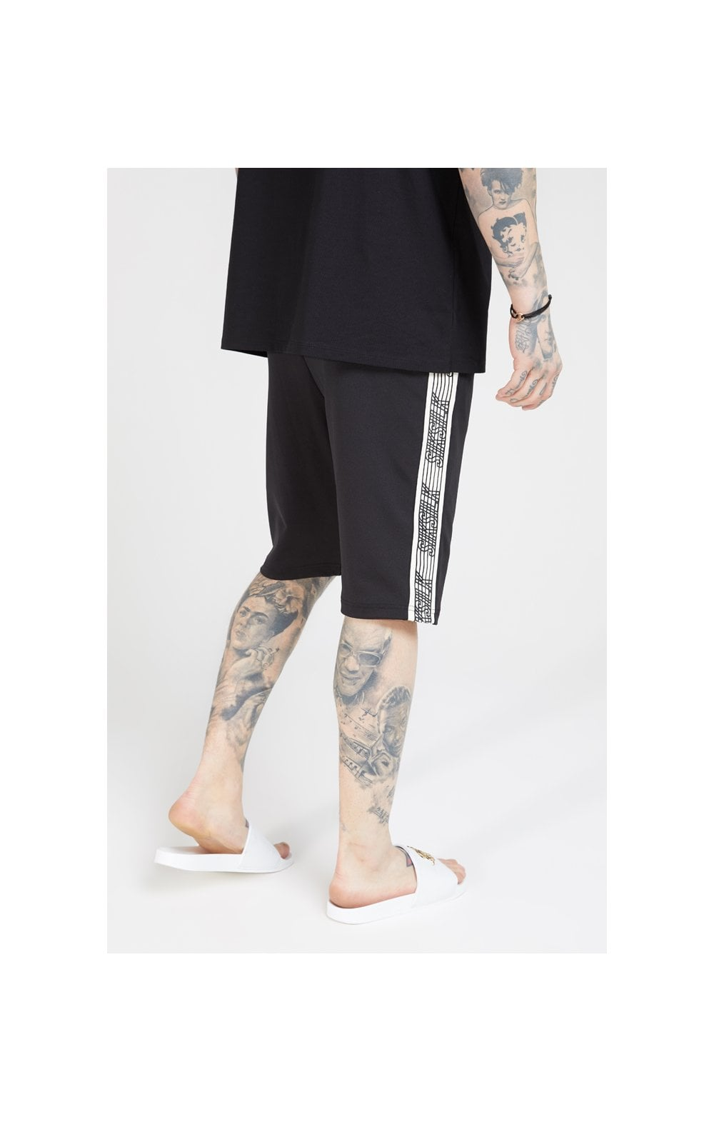 SikSilk Zonal Runner Shorts - Black (1)