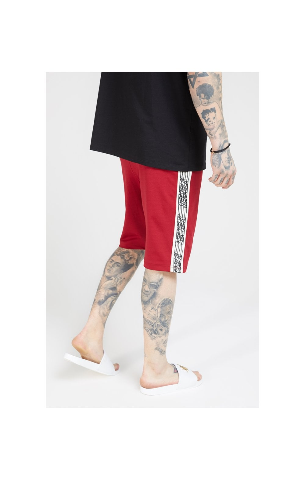 Load image into Gallery viewer, SikSilk Zonal Runner Shorts - Jester Red (1)