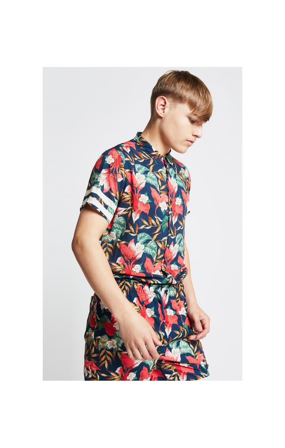 Illusive London Tropical Resort Shirt – Tropical Leaf (6)