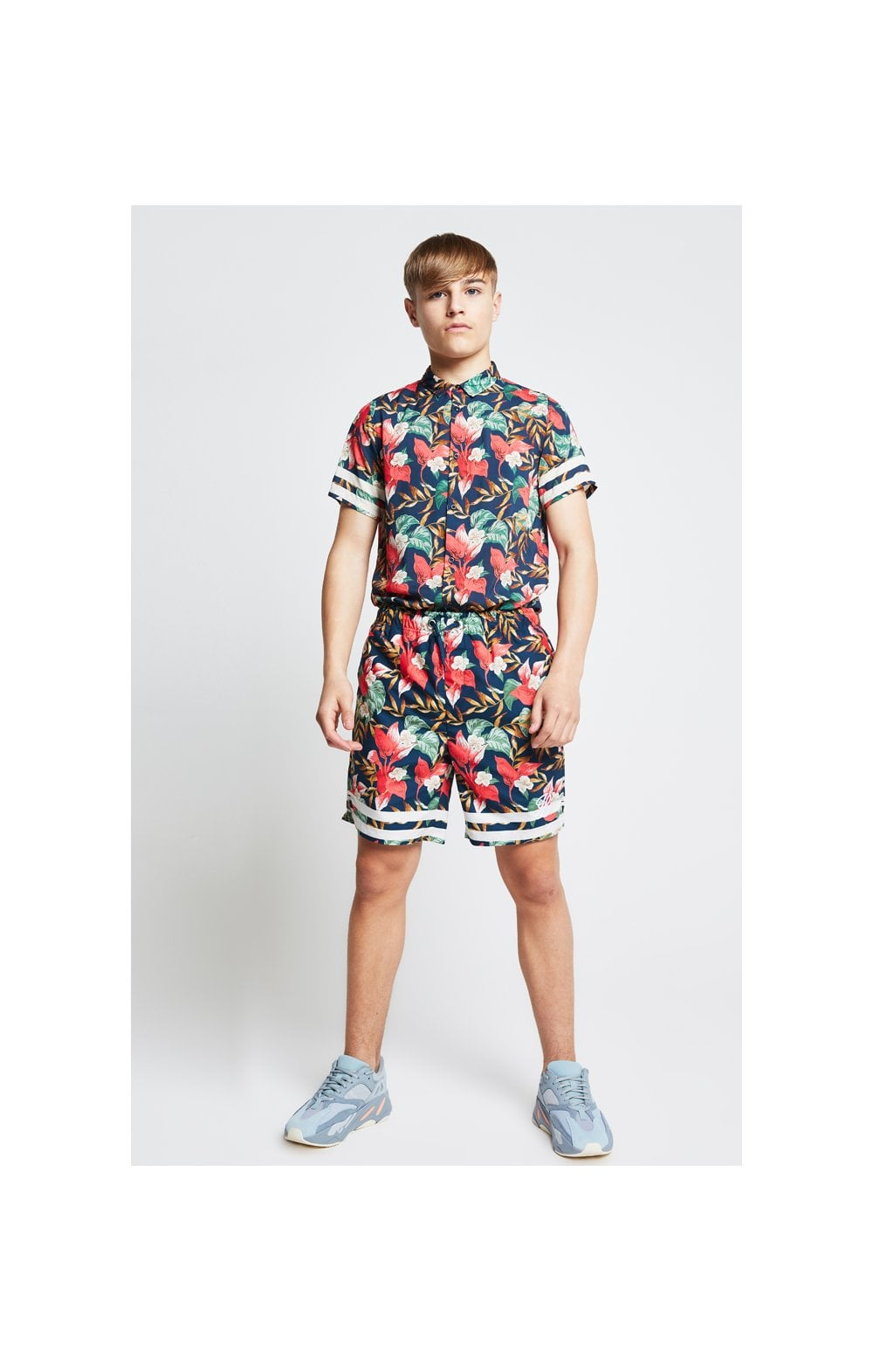 Illusive London Tropical Resort Shirt – Tropical Leaf (2)