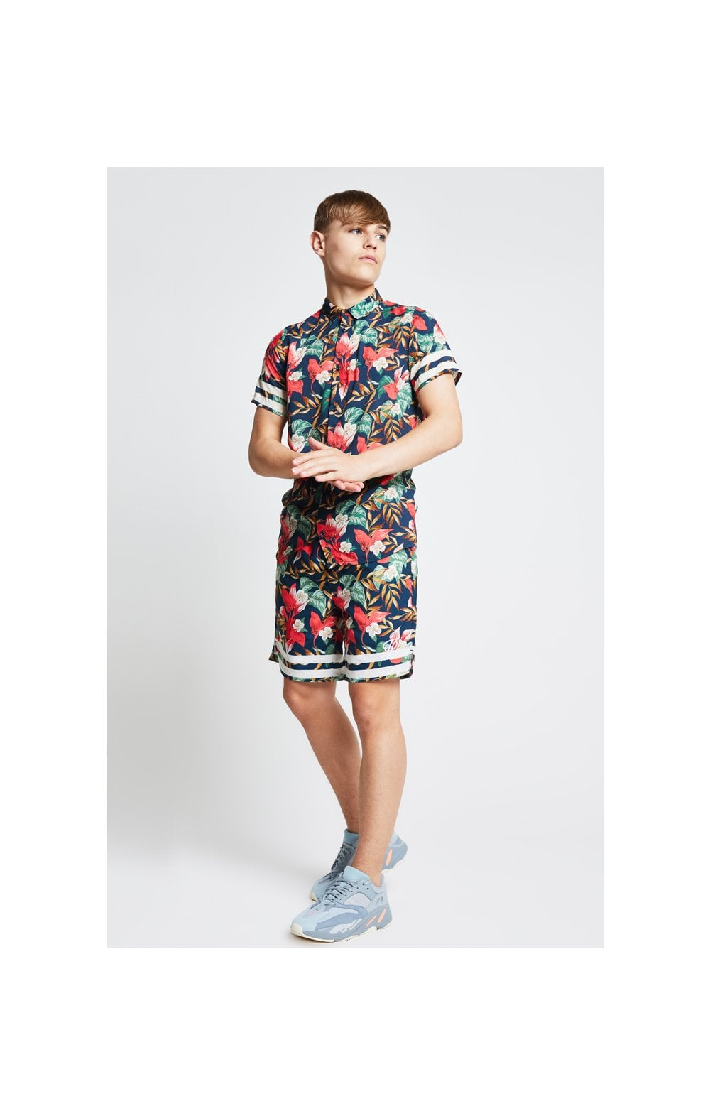 Illusive London Tropical Resort Shirt – Tropical Leaf (3)