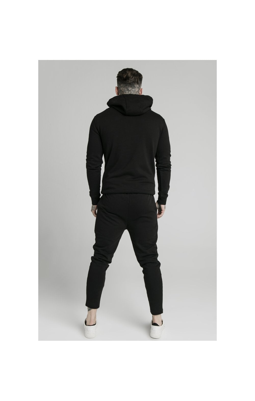Load image into Gallery viewer, SikSilk Smart Overhead Hoodie - Black (5)