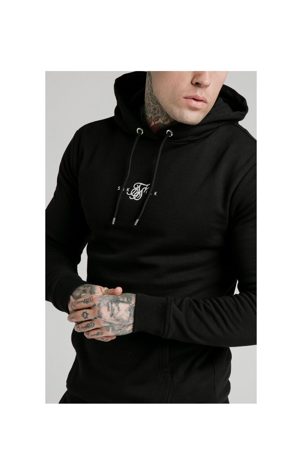 Load image into Gallery viewer, SikSilk Smart Overhead Hoodie - Black (1)