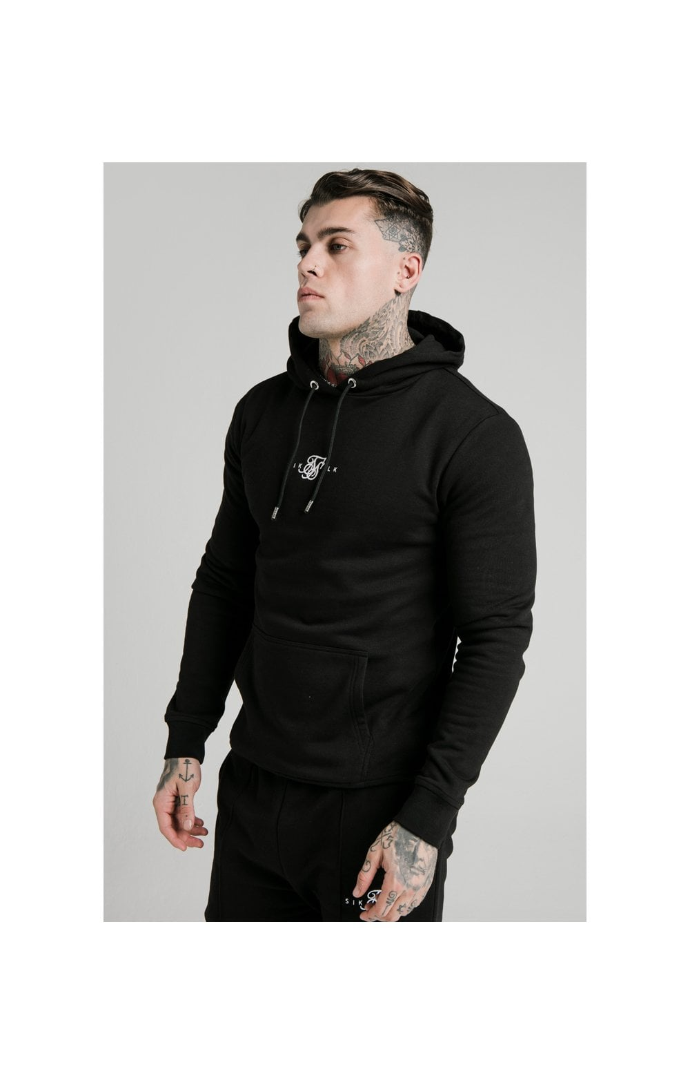 Load image into Gallery viewer, SikSilk Smart Overhead Hoodie - Black