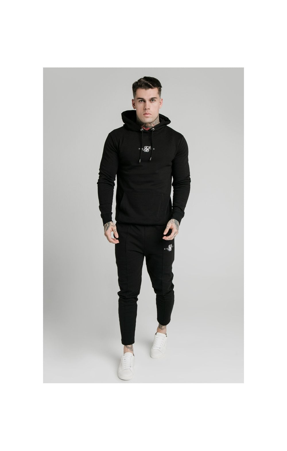 Load image into Gallery viewer, SikSilk Smart Overhead Hoodie - Black (2)