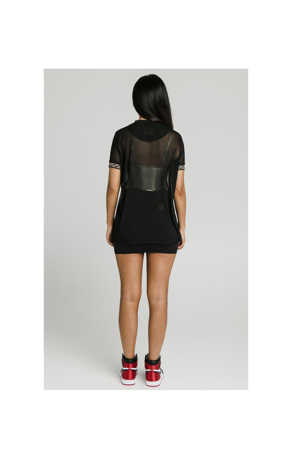 Load image into Gallery viewer, SikSilk Luxury Mesh Tee - Black (6)