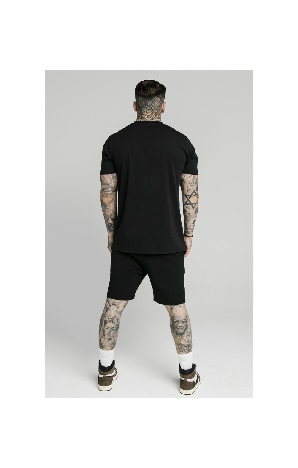 SikSilk Jersey Shorts - Black (6)
