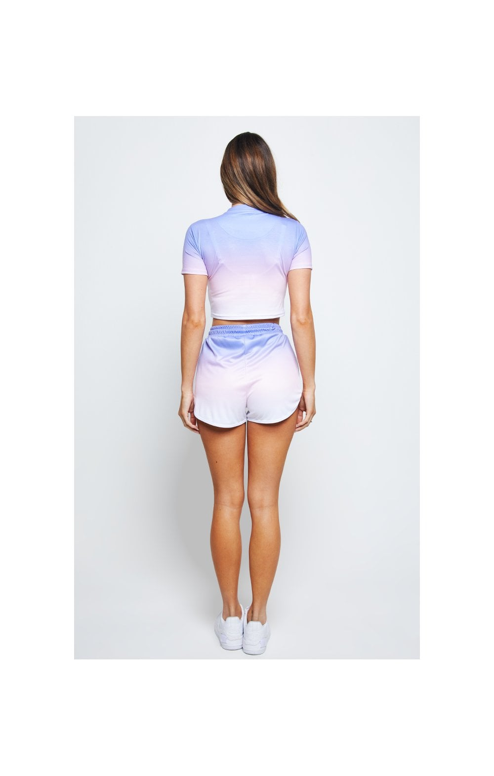 SikSilk Fade Crop Tee – Multi (6)
