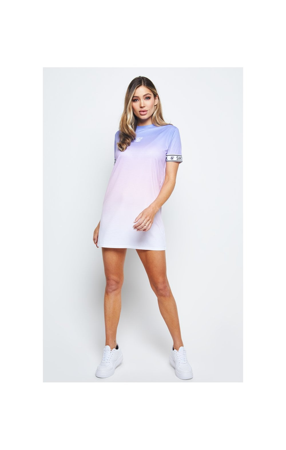 SikSilk Fade T-Shirt Dress - Multi (3)