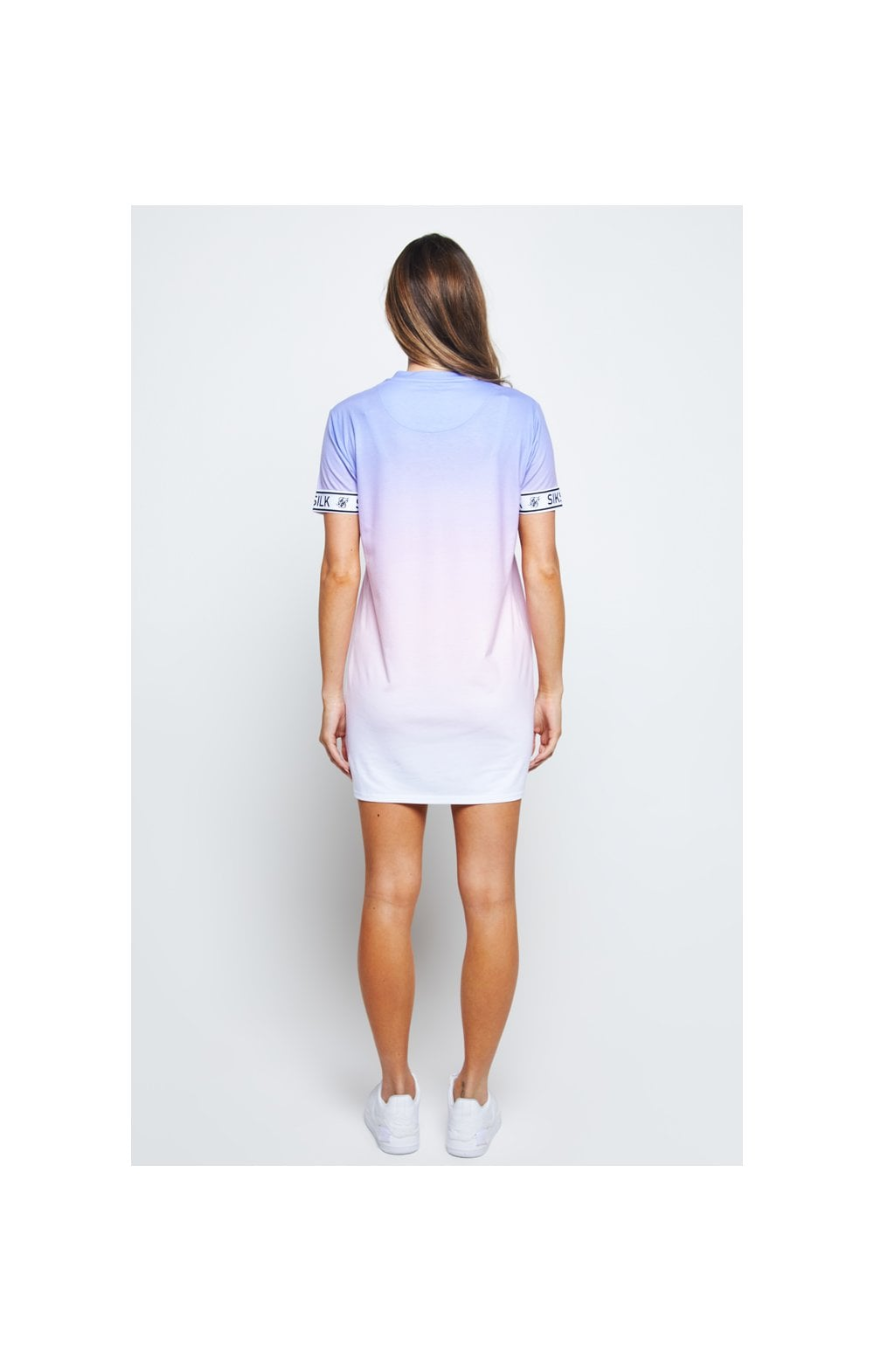 SikSilk Fade T-Shirt Dress - Multi (5)