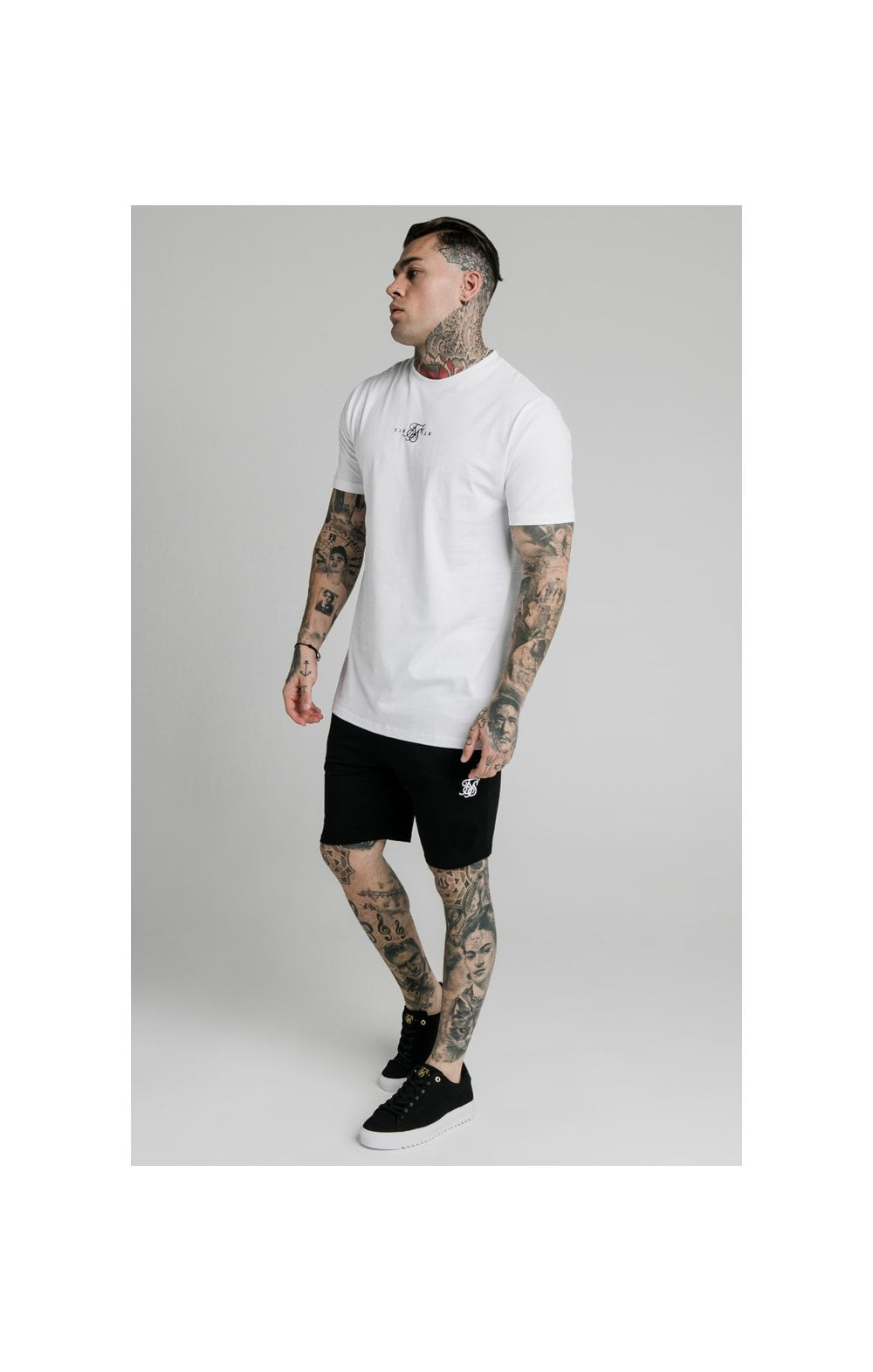 Load image into Gallery viewer, SikSilk Jersey Shorts - Black (3)