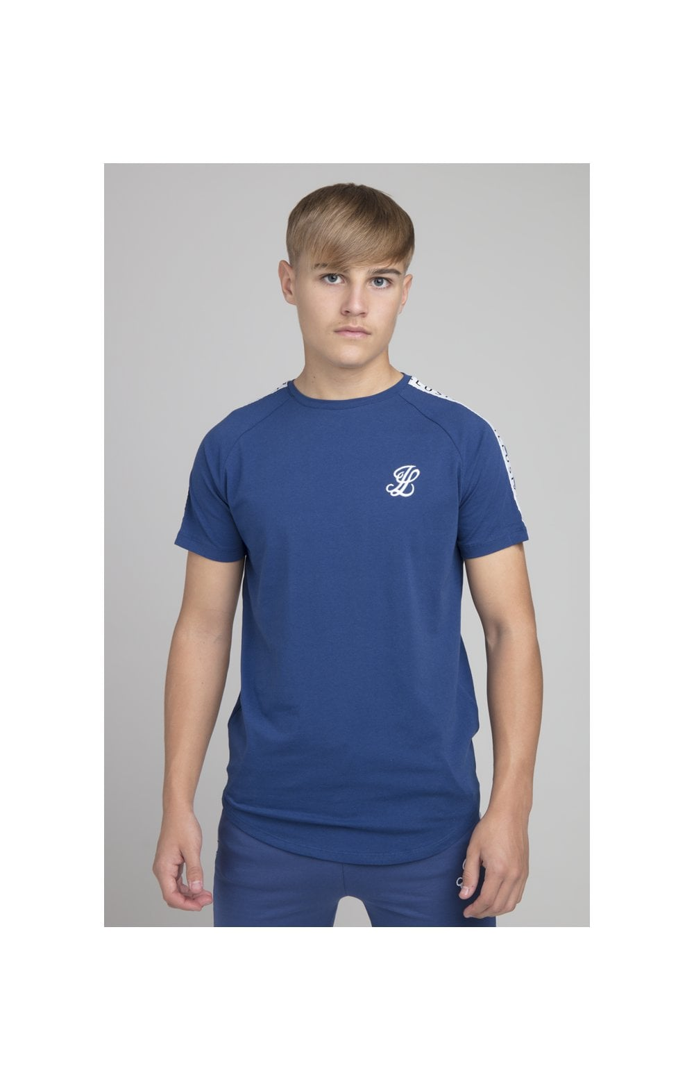 Illusive London Taped Core Tee - Royal Blue Kids Top Sizes: 7-8 YRS