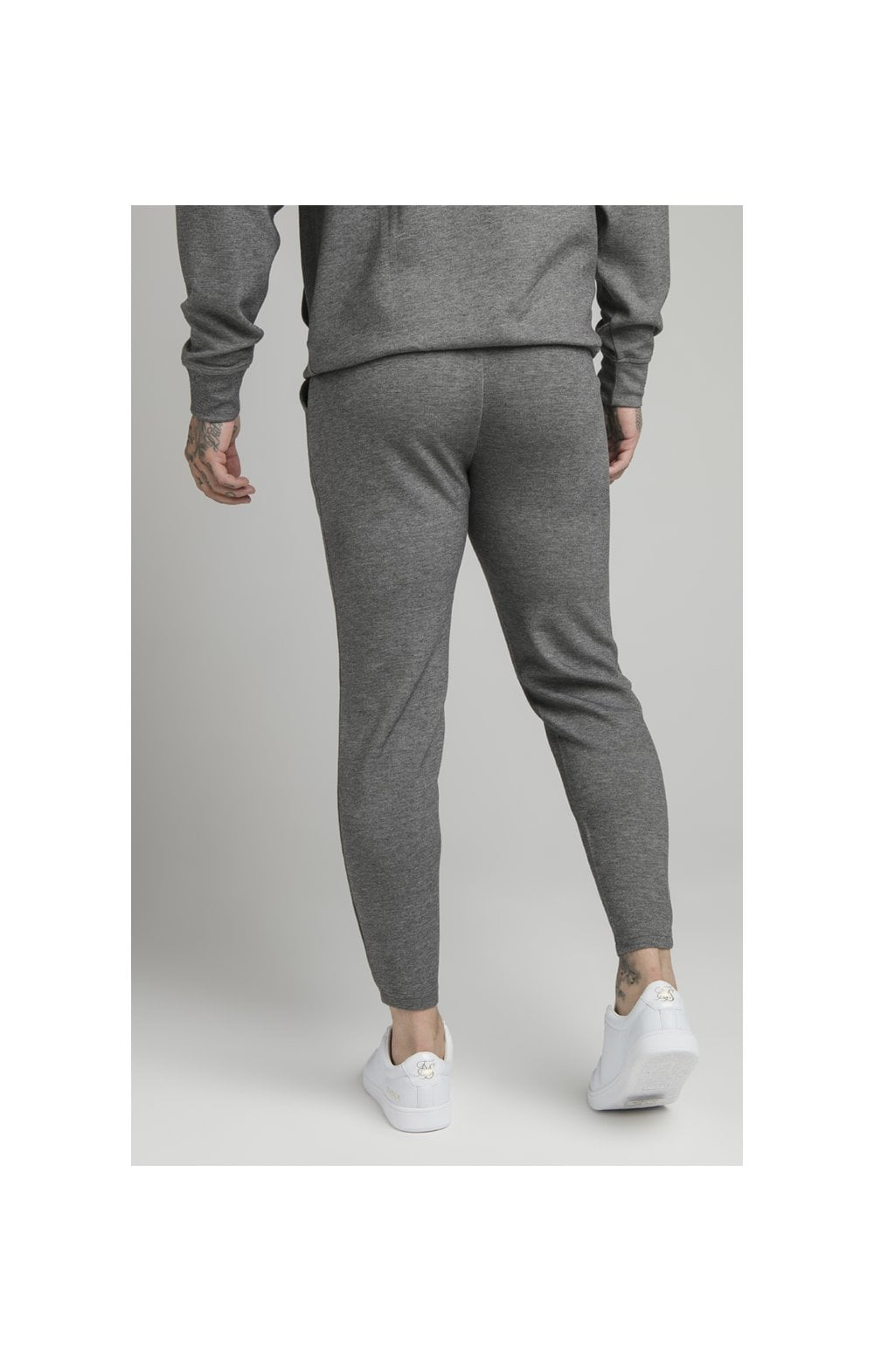 Load image into Gallery viewer, SikSilk Dual Logo Pant - Grey (3)