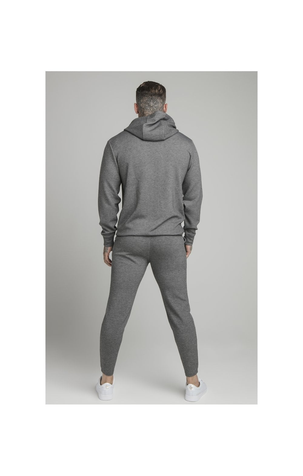 Load image into Gallery viewer, SikSilk Dual Logo Pant - Grey (6)