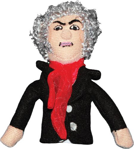 Beethoven Finger Puppet and Fridge Magnet