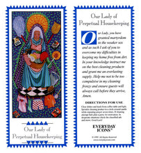 Load image into Gallery viewer, Our Lady of Perpetual Housekeeping Prayer Candle