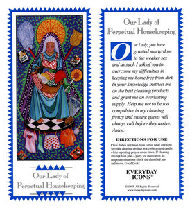 Our Lady of Perpetual Housekeeping Prayer Candle