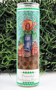 Powerful Gardening Prayer Candle
