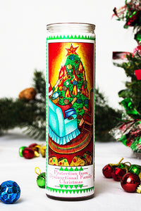 Protection from Dysfunctional Family Christmas Funny Prayer Candle