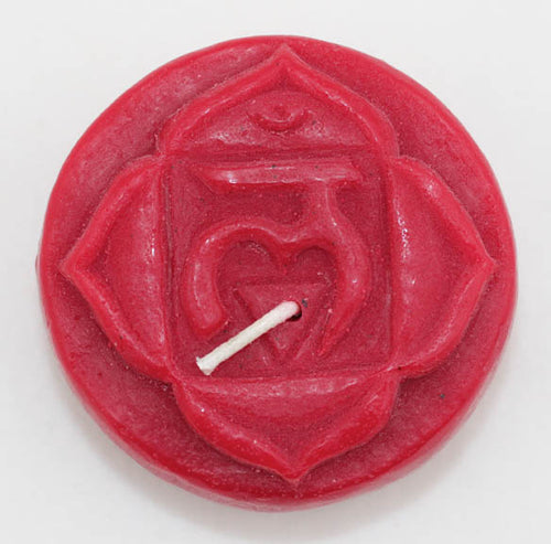 Chakra Candle Unscented - Perfect for Meditation