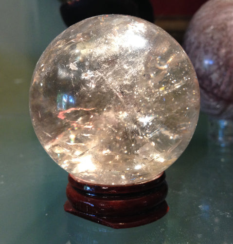 Smoky Quartz Sphere 54mm or 2-1/8 inch