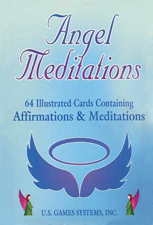Angel Spiritual Reading Cards of Angel Meditations