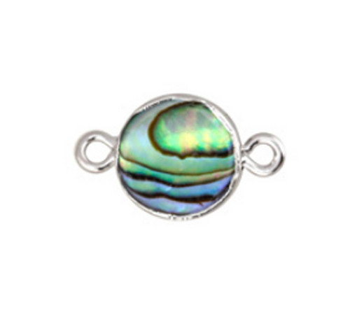 Abalone Bead double-sided
