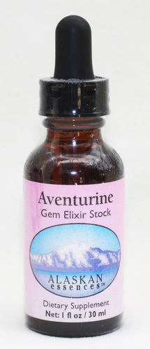 Aventurine Gem Elixir 1 oz Alaskan Essences